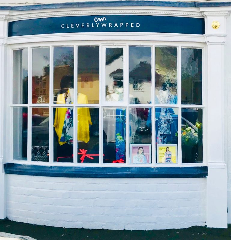 Photo of the Cleverly Wrapped shop