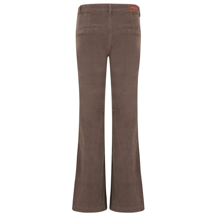 Brown Needle Cord Jeans