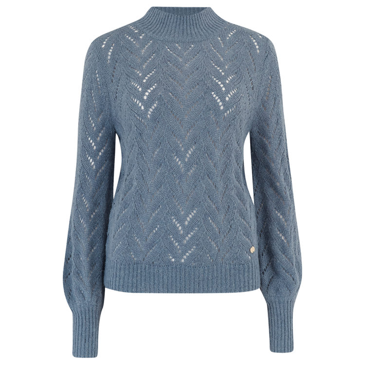 Teagan Heather Blue Jumper