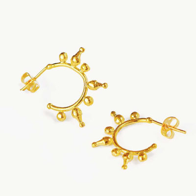 Jale Gold Earrings