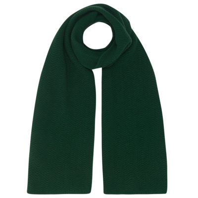 Emerald Cashmere Wool Scarf