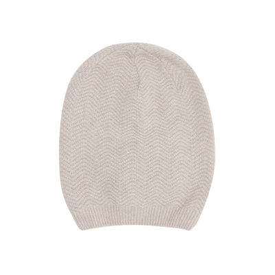 Oatmeal Cashmere Wool Hat