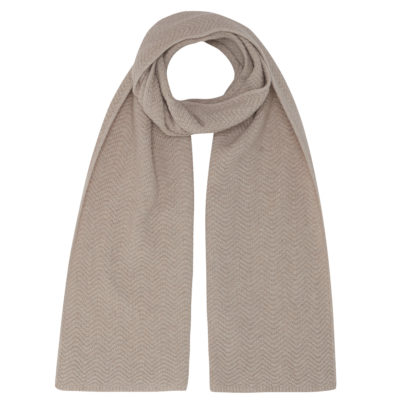 oatmeal cashmere wool scarf