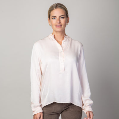 Blush Henley shirt