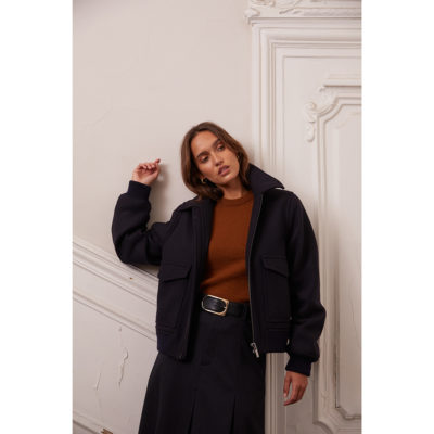 Navy Betty Jacket