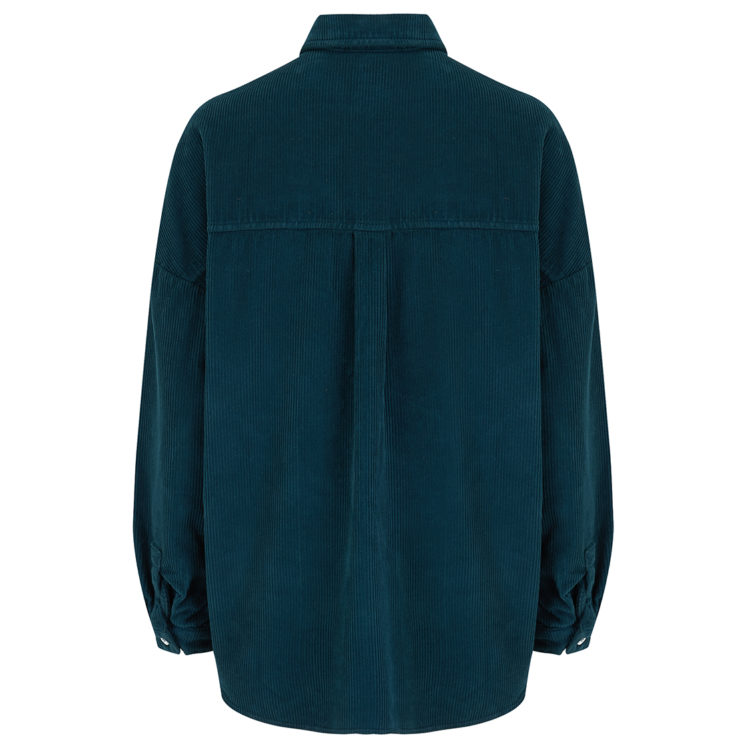 Teal Ronita jacket back