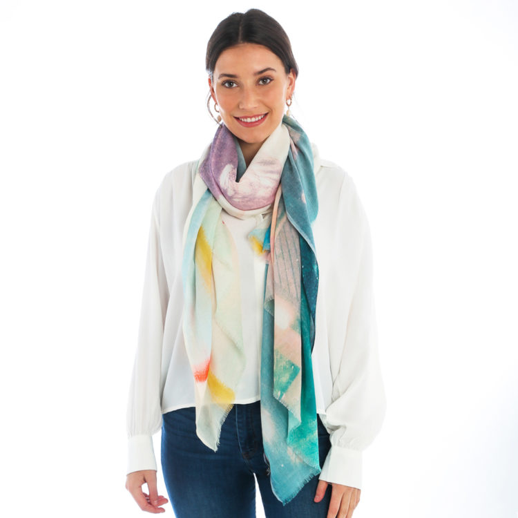 Palm Tree Summer Scarf