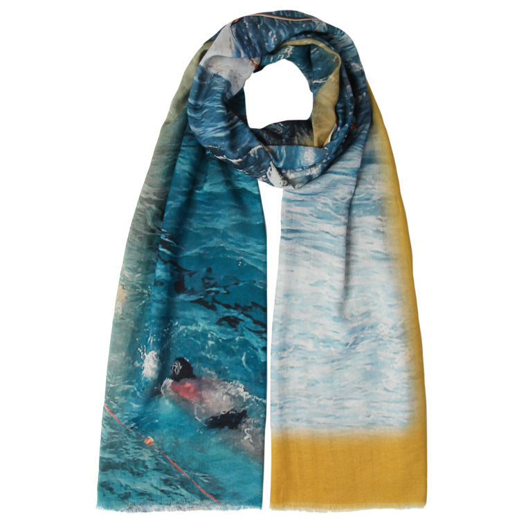 Sea Swimmers Summer Scarf