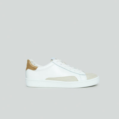 Evelyn White and Gold Trainer