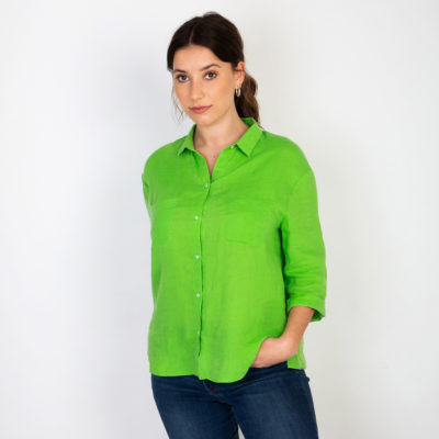 Simone Emerald Shirt