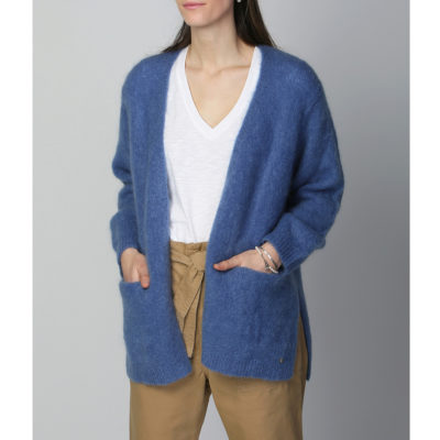 Calon sky blue knitted cardigan