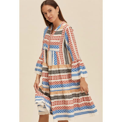 Multi coloured Ella dress