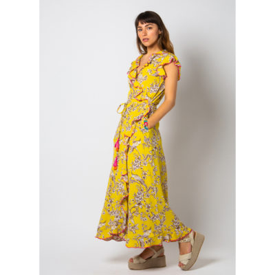 Citron Wrap dress
