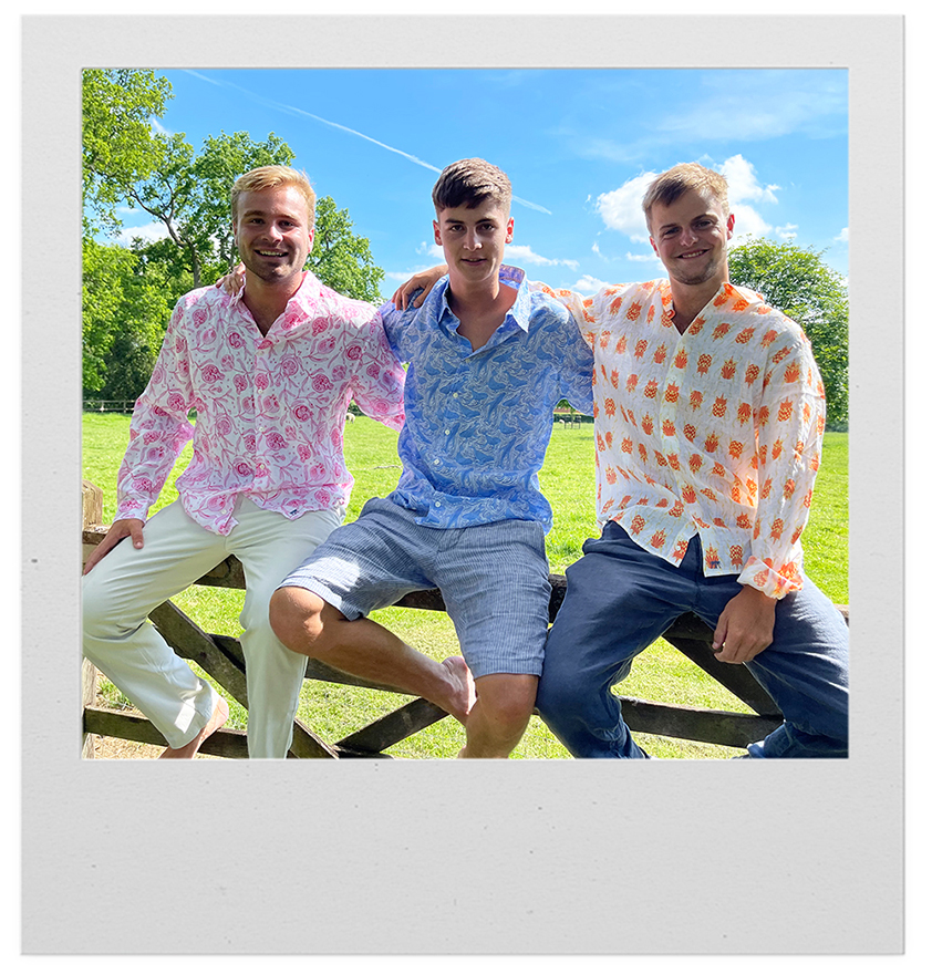 Pink House Mustique shirts