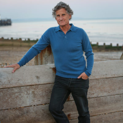 Teal Cashmere Polo Jumper