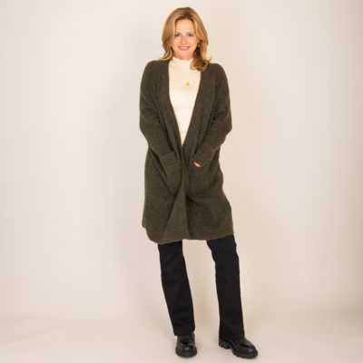 Soho Cardigan by Cleverly Wrapped